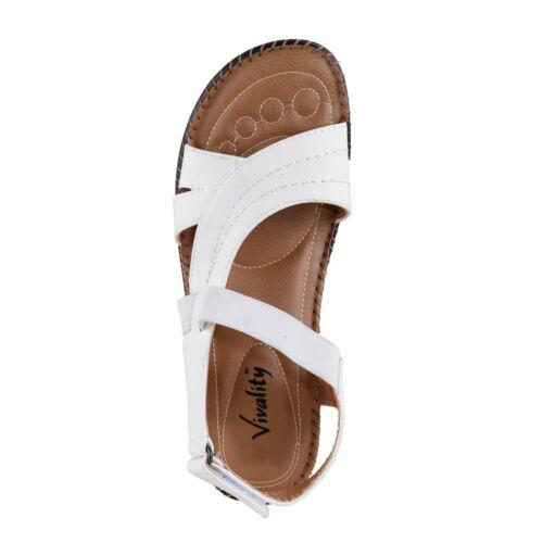 été Sandales sale Blanc tendance Vivality femmes confortable sandale fashion
