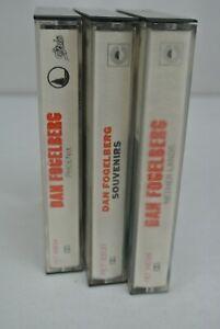 3)  DAN FOGELBERG Cassette Tapes