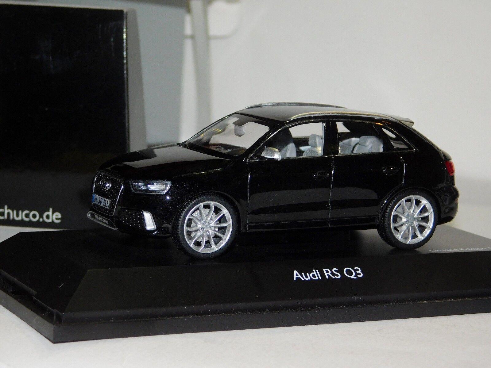 aquí tiene la última AUDI RS Q3 Negro Negro Negro Schuco Lim. 1 500 7513 1 43  diseñador en linea