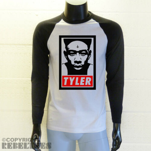 Tyler The Creator T-SHIRT Baseball style long or short sleeved ODD FUTURE