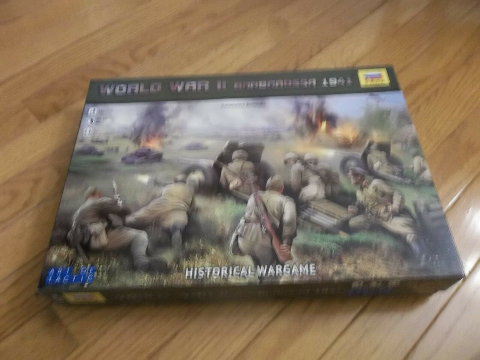 Zvezda World War 2 1941 Barbarossa 1941 2 unpunched 5af24e