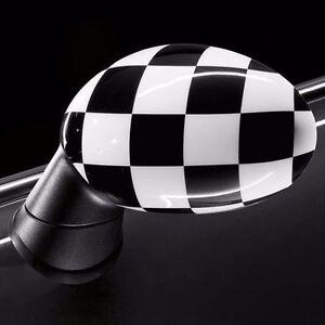 Original MINI Innenspiegelkappe Checkered Flag MINI F54 F55 F56 F57 F60 o.Alarm