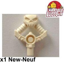Lego - 1x minifig arme weapon Djinn Sword Hilt skull épée blanc/white 23865 NEUF