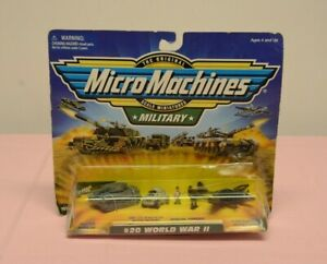 Micro-Machines-Military-World-War-II-20-Galoob-New-WWII