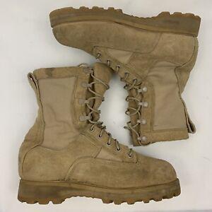Belleville Desert Combat Boots Military Army GoreTex Vibram Tan Mens 5.5 W Wide
