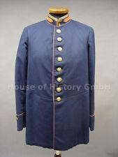 Preußen: Blauer Dienstrock eines Kaiserlichen Post Beamten, Cassel 1916, Uniform