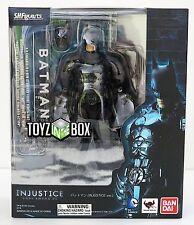 "In STOCK S.H. Figuarts ""Batman"" Injustice Ver Bandai  Action Figure"