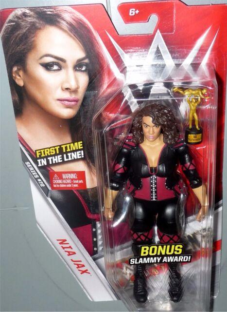 WWE Wrestling Basic Series #72 Nia Jax Action Figure