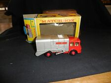 Vintage Matchbox K-7 Refuse Truck Cello Loose No Insert