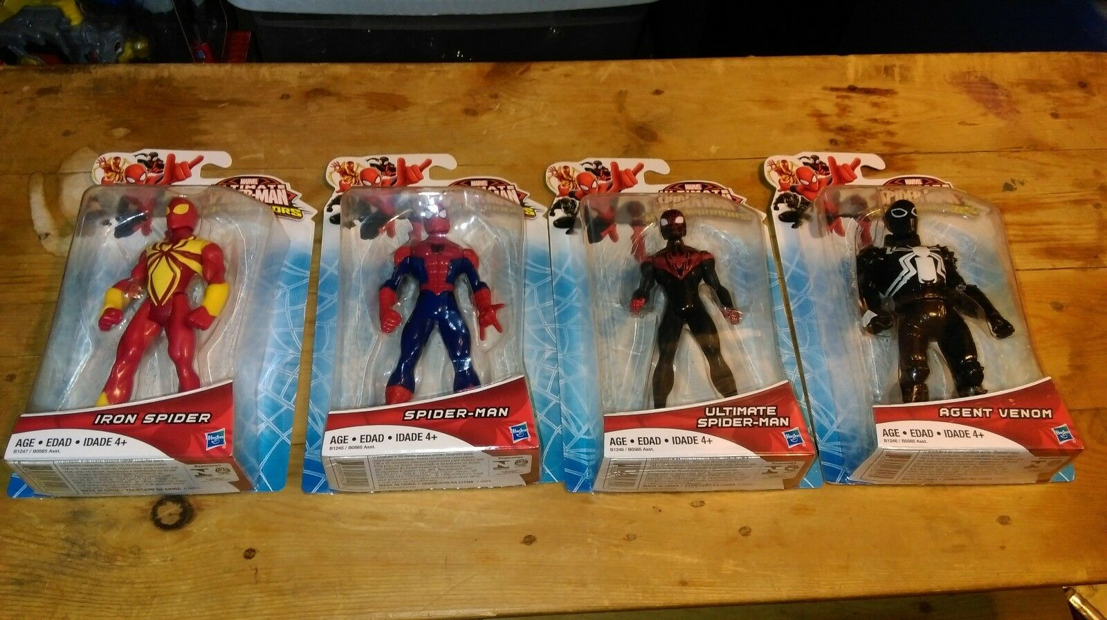 Ultimate spider - man - krieger - ultimate agent gift neue
