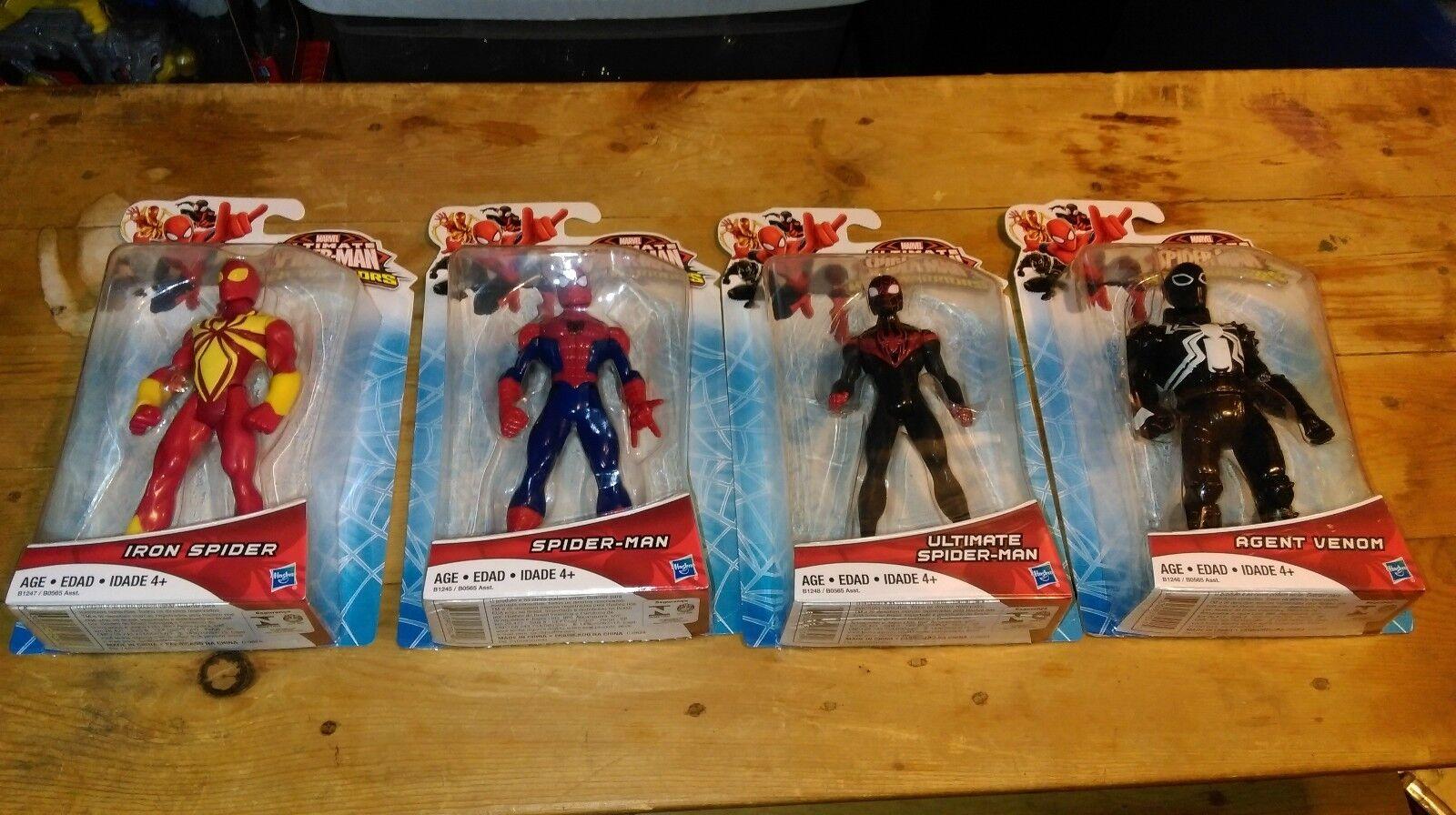 Ultimate Spider man Web Warriors Iron Ultimate Agent Venom New