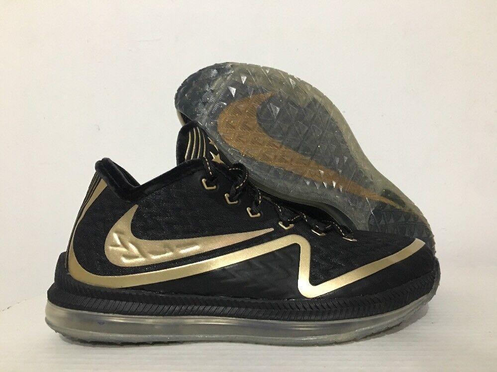 Nike Field General 2 Premium  Super Bowl 50   Shoes Black Gold SZ 8 [824471-070]
