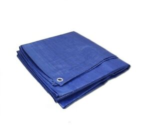 Blue-Heavy-Duty-Tarpaulin-5-Sizes-Waterproof-Strong-Cover-Ground-Sheet-Cheapest