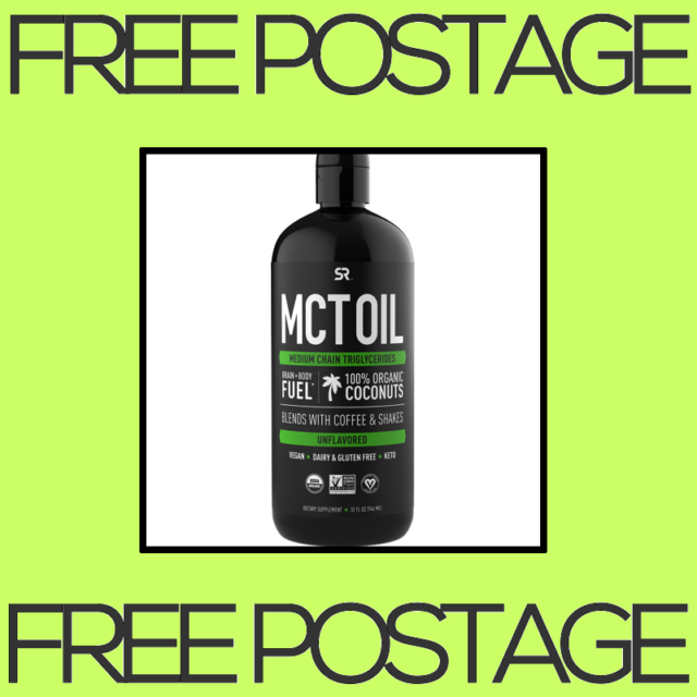 NEW Sports Research, MCT Oil, Organic, Unflavored - 32 fl oz 946 ml FREE SHIP