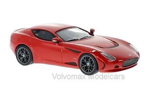 Maravilloso Neo-Resina-MODELCAR AC 378 GT Zagato 2012-rosso - 1 43