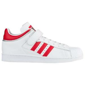 ADIDAS ORIGINALS PRO SHELL BY4384 FOOTWEAR WHITE/SCARLET RED/SILVER METALLIC