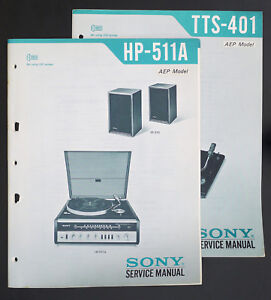 sony hp 511a incl ss 510 tts 401 original music system service rh ebay com HP 251-A123w Manuals designjet 510 service manual