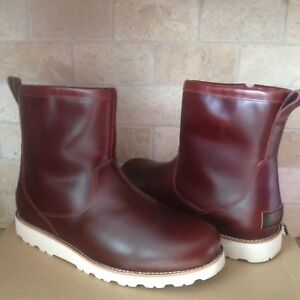 8385fa1e04d Details about UGG HENDREN TL CORDOVAN WATERPROOF LEATHER FUR WINTER BOOTS  SIZE US 7 MENS