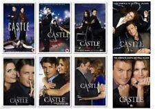 BRAND NEW Castle Seasons 1 - 8 Season 1 2 3 4 5 6 7 8 DvD s