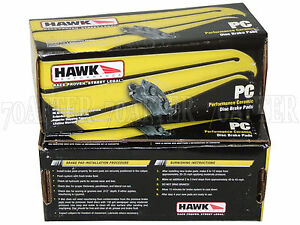 Hawk Brake Pads >> Details About Hawk Ceramic Brake Pads Front Rear Set For 07 16 Toyota Tundra