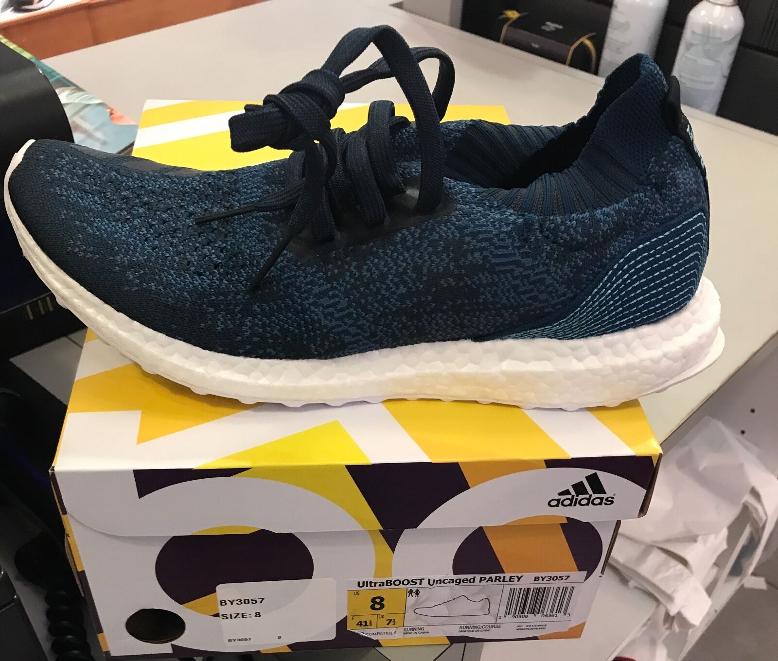 Gli uomini  adidas ultraboost x parley marina fece uscire by3057 notte marina parley 8 6c0734