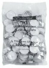 Candle Lite 50 Pack, Unscented, Tea Light Candles