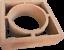 miniature 2 - Formziegel Dekor Kreis - Wand Ornament Ziegel Wall Block Brick - Bemusterung
