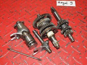 Getriebe Getriebewelle gears gear box Motor Schaltung Yamaha TY 50 1G3 - DT M RD