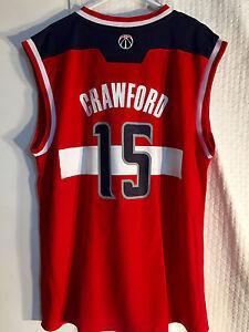 Adidas-NBA-Camiseta-Washington-Wizards-Jordan-Crawford-Rojo-Sz-LARGA