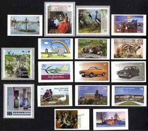 2017sk-Deutschland-2017-selbstklebende-Briefmarken-postfrisch-komplett