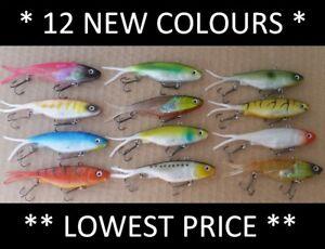 12-Vibe-Soft-Plastics-Fishing-Lures-100mm-Mullet-Barra-Jew-Trevally-FREE-SHIPPIN