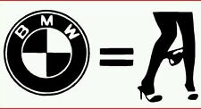 Pegatina Adhesivo BMW Bragas 12 cms Sticker Aufkleber Autocollant