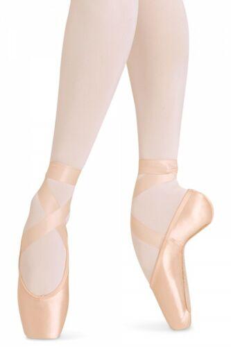 Bloch European Balance Pointe Shoe ES0160L Sizes 2.5-11 Widths 0x 1x 2x 3x 4x