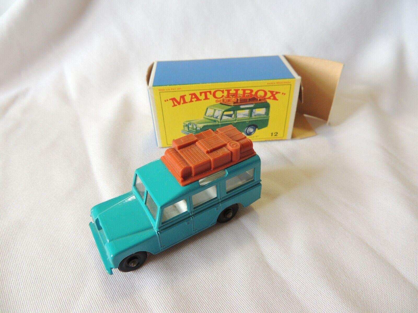 LESNEY MATCHBOX LAND  ROVER SAFARI No. 12 in original box neuf dans sa boîte très bon état  haute qualité