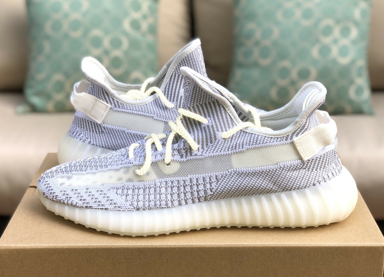 Adidas Yeezy Boost 350 V2 Static Non Reflective Size 11.5 Ships Same Day