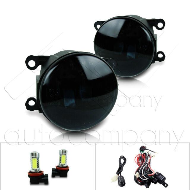 For 2011-2014 Acura TSX Fog Lights W/Wiring Kit & COB