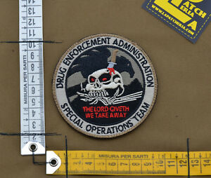 Ricamata-Embroidered-Patch-Sabotage-034-Dea-034-with-VELCRO-brand-hook
