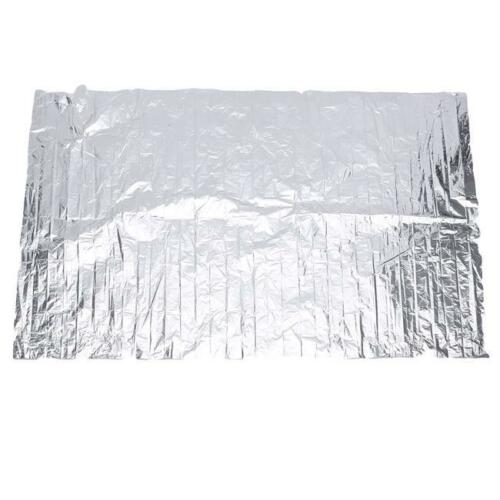Emergency Waterproof Thermal Survival Blanket Rescue First-Aid Camp Tent Silver