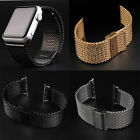 Loop Milanese Stainless Steel Watch Band Strap + Adapter For Apple Watch 38/42mm