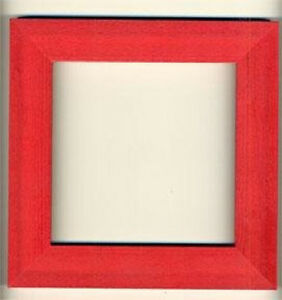 Mill-Hill-Holiday-Red-Wooden-Hand-Painted-Frame-6-034-x-6-034-GBFRM9-New
