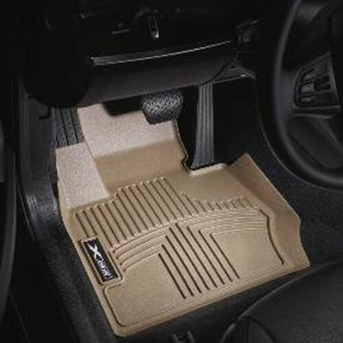 Beige  82112293587 BMW X3 2011 All-Weather Front Floor Liners