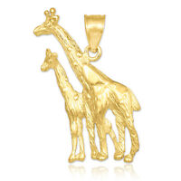 Gold Giraffe Pendant