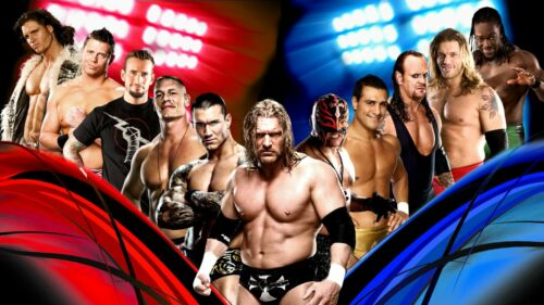 Jhon Cena World Wrestling Póster de efecto 3D Mania Vinilo Mural Adhesivo de ventana 619