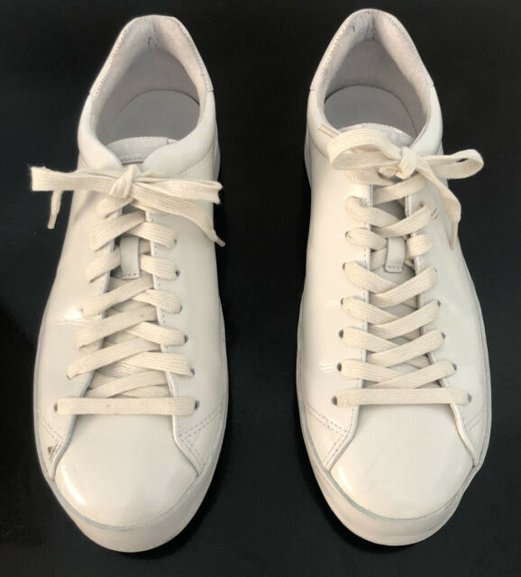 rag and bone white leather sneakers