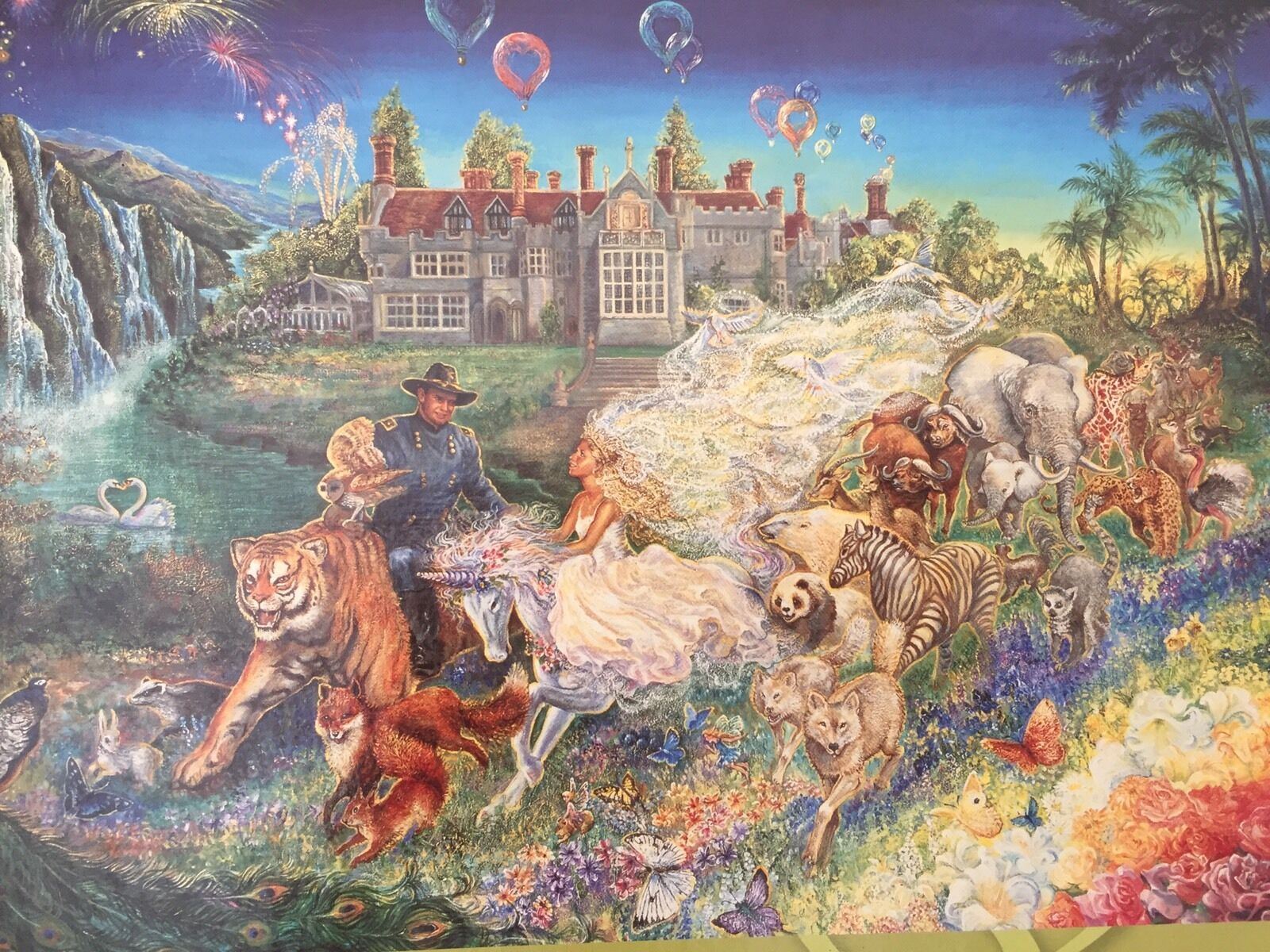 Fantasy Wedding  By Josephine Wall 1000Masterworks Jigsaw Puzzle,NEW&SEALED,RARE