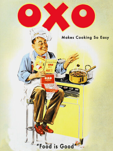 OXO Metal Wall Sign (3 Größes - Small   Large and Jumbo)