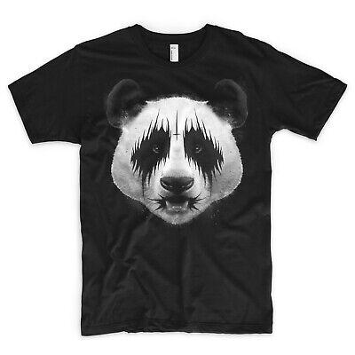 Inteligente Panda T Shirt Metallo Nero Satana Concerto Rock Kiss Maschera Festival I Metallica-mostra Il Titolo Originale Garantire Un Aspetto Simile Al Nuovo In Modo Indefinibile