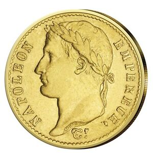20-Francs-Gold-Coin-1809-1813-France-Napoleon-I-with-Wreath
