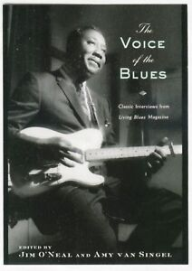 VOICE-OF-THE-BLUES-Interviews-book-Muddy-T-Bone-Reed-Little-Walter-Estes-SIGNED