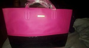 Juicy-Couture-Juicy-Couture-Pink-Black-Tote-Bag